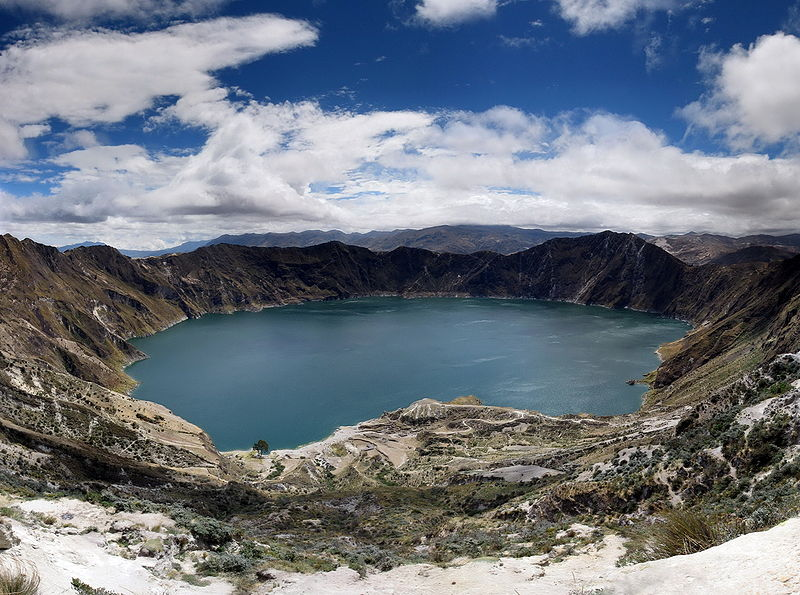 Озеро Килотоа, Эквадор.