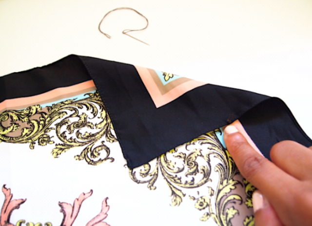 Оригинальная одежда из платков 6 моделей. МК, выкройки