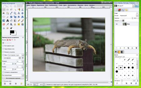 The GIMP 2.8.2
