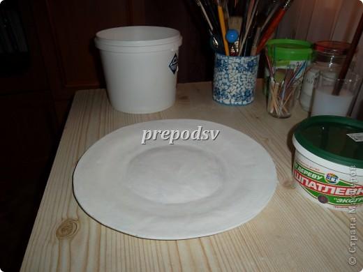 Тарелка из бумаги и клея своими руками 12