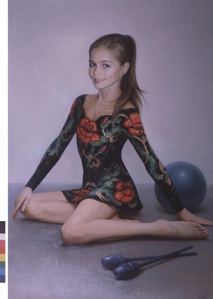 Гимнастка Лиза Брыксина