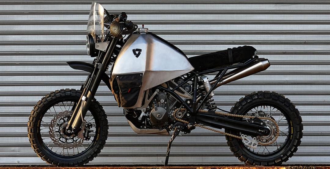 Фото Тюнинг, мотоцикл, Enduro