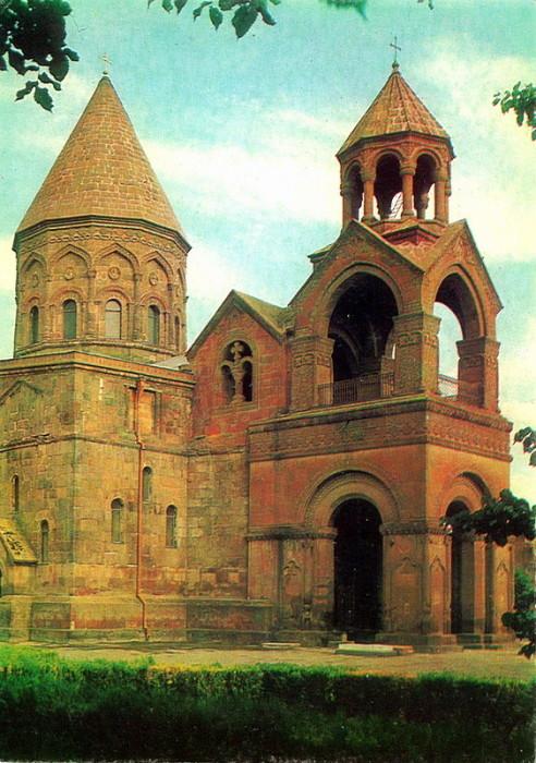 Главный храм Армянской апостольской церкви и престола Верховного Патриарха Католикоса Всех Армян.