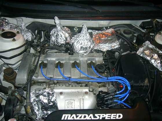 Как приготовить обед на двигателе авто?