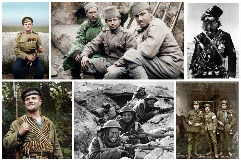 Воины прошлого, или исторические фото солдат