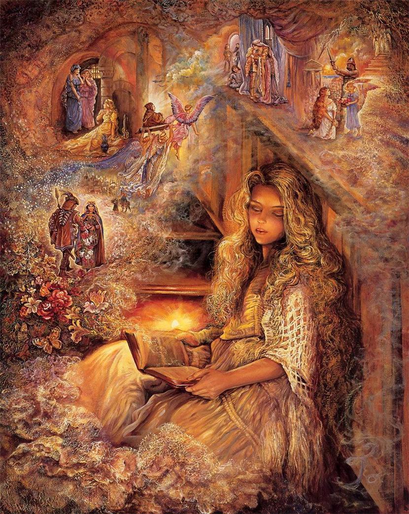 Фэнтези миры Жозефины Уолл (Josephine Wall)