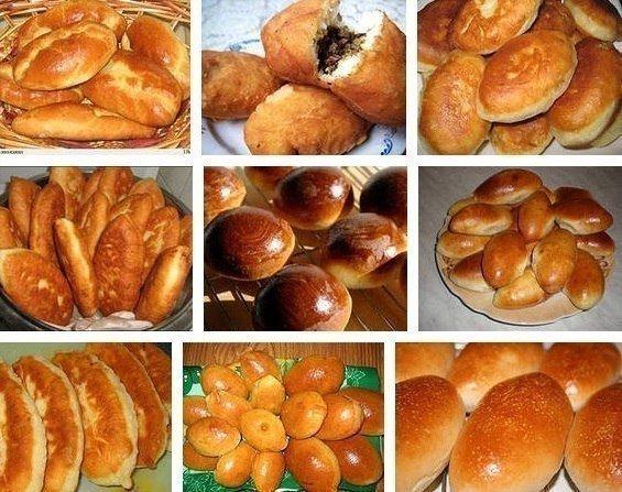 Пирожки. Подборка из 11 рецептов