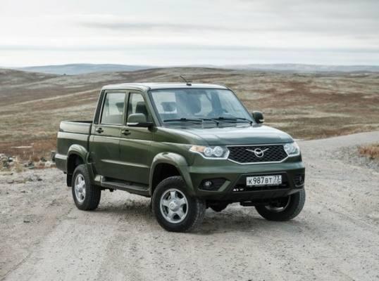 Стартовали продажи обновленного УАЗ «Пикап»
