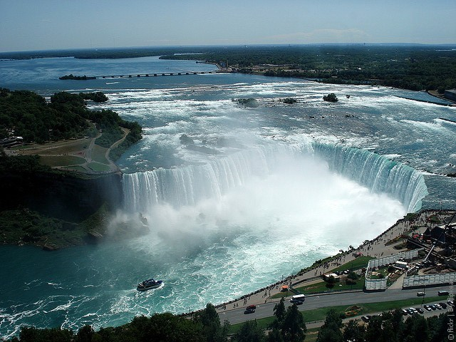 7. Ниагарскй водопад водопады, красота, природа