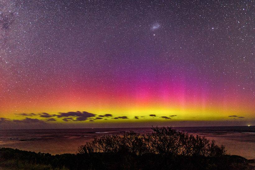 Вы когда-нибудь видели южное полярное сияние, аналог явления в северном полушарии?