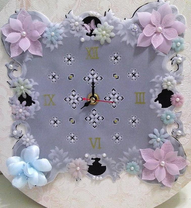 Часы созданные в технике пар…