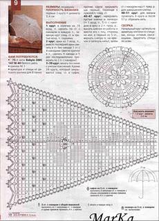 схема вязание крючком зонтов