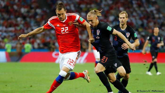 После матча с Россией хорват…