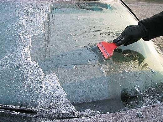 ❄ Шесть способов решить проблему замерзания стекол автомашины зимой.
