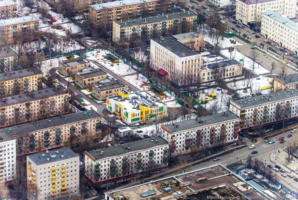 Инфраструктура в Тимирязевском районе.