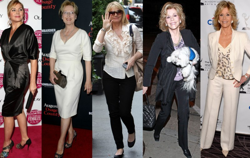 Как одеваться в 55 лет женщине
