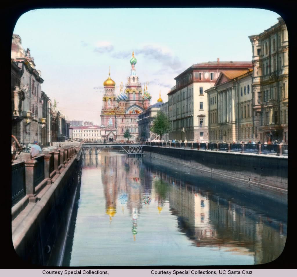Фотографии довоенного Ленинграда 1931 года в цвете