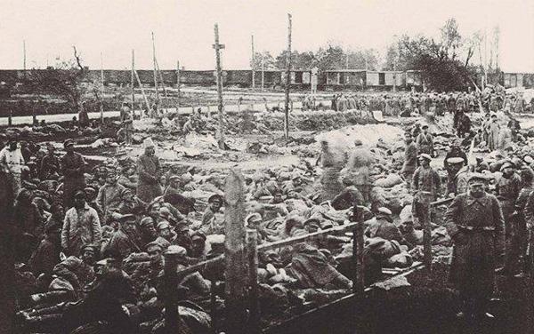 Красноармейцы в польском плену