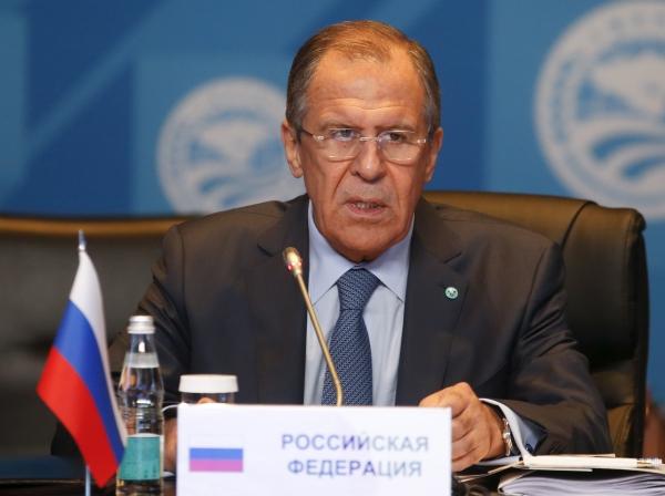 Лавров дал пресс-конференцию по окончанию переговоров глав МИД «нормандской четверки»