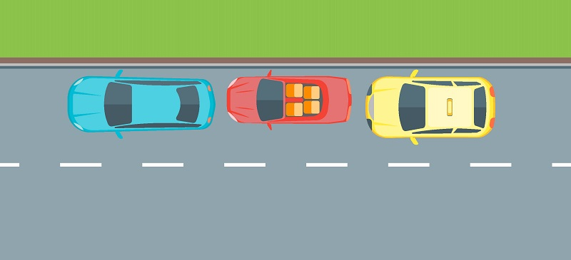 параллельная парковка ориентиры