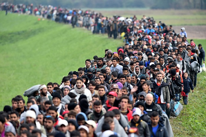 Мигранты стройною толпой… Часть 2