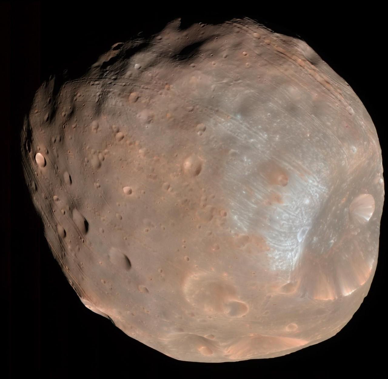 Через 40 миллионов лет Марс будет опоясан кольцом (потеряв один свой спутник)
