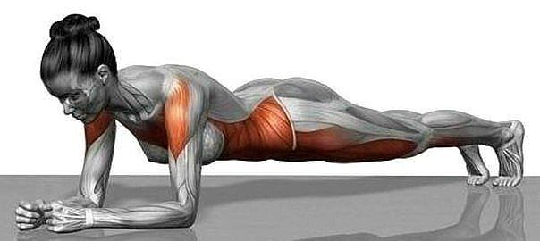 Упражнение, которое убирает лишние см на талии и не только