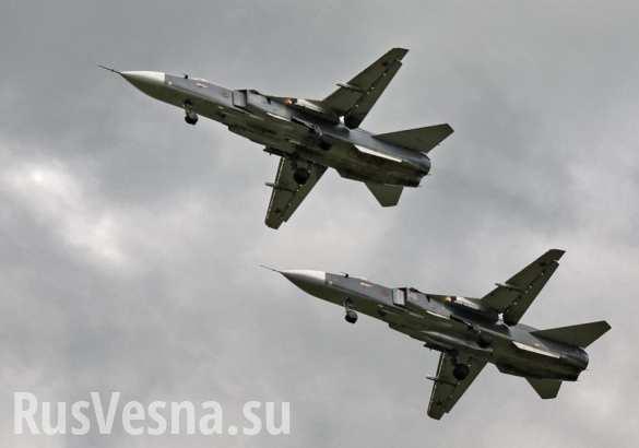 Моряки ВМФ США сняли пролет российского Су-24 над американским эсминцем (ВИДЕО) | Русская весна