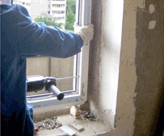 Как устанавливают пластиковые окна уроки ремонта - рестот.ру.