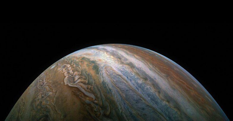 Космические виды Юпитера и интересные факты об этой планете