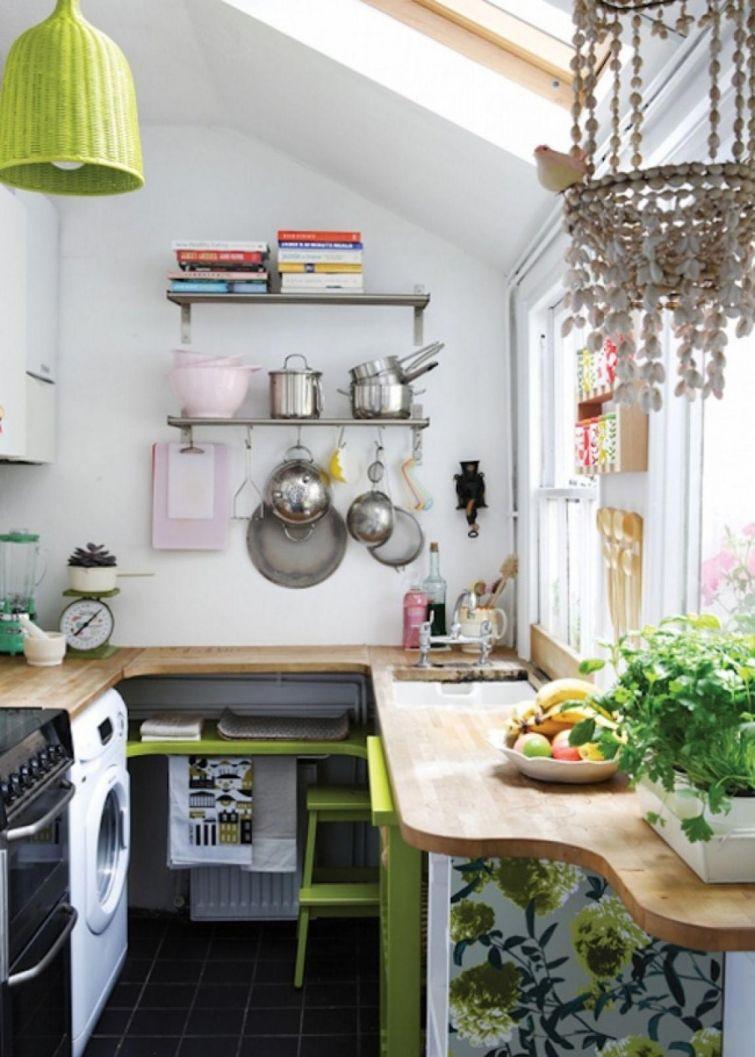 Как оформить маленькую кухню своими руками фото