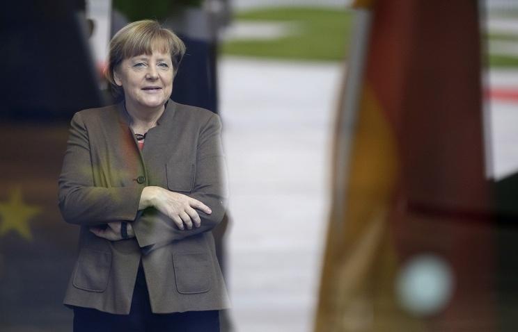 """Time назвал Меркель """"Человеком года"""""""