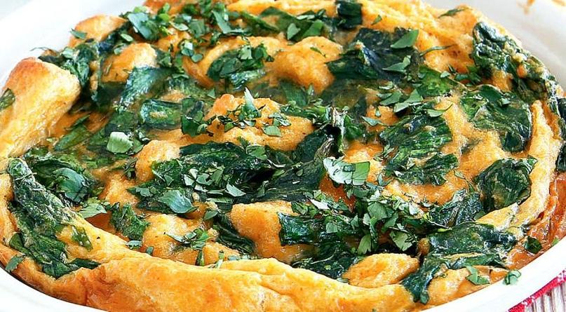 Картинки по запроÑу Запеченный зеленый омлет Ñ Ð¿Ð°Ð¿Ñ€Ð¸ÐºÐ¾Ð¹: блюдо, которое захотите готовить каждый день