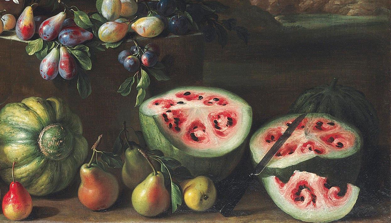 Как выглядели раньше привычные нам овощи и фрукты