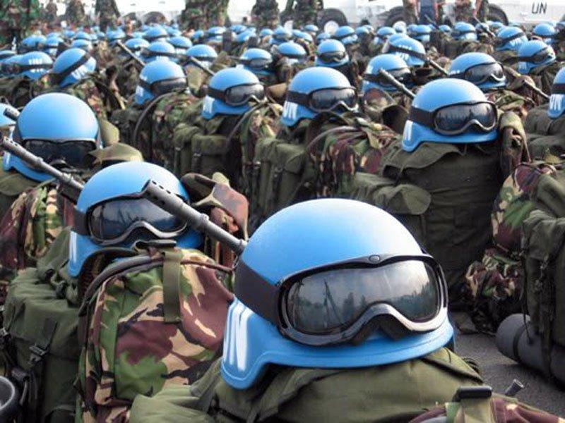 Размещение миротворцев ООНн…