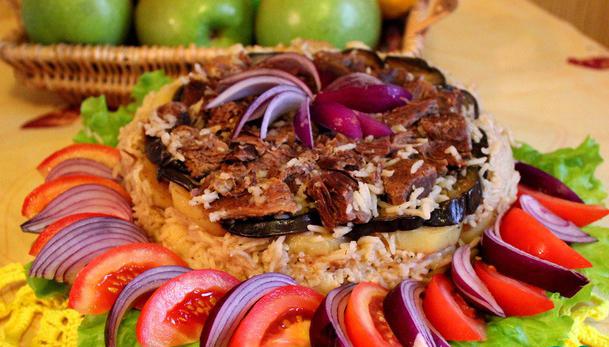 Маклюбе рецепт с фото турецкое блюдо
