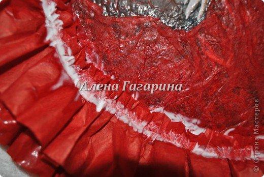 Декор предметов Мастер-класс Декупаж Тарелка Фламенко Бумага фото 23