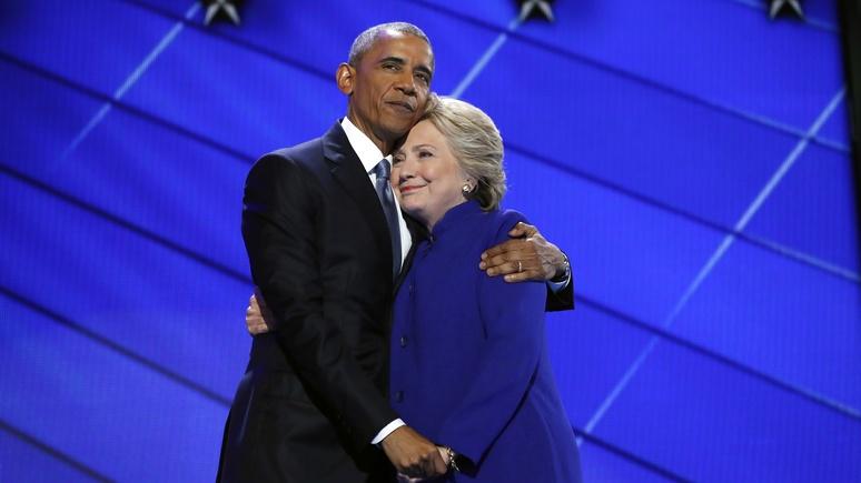 Клинтон извинилась перед Обамой за поражение — не давали покоя русские