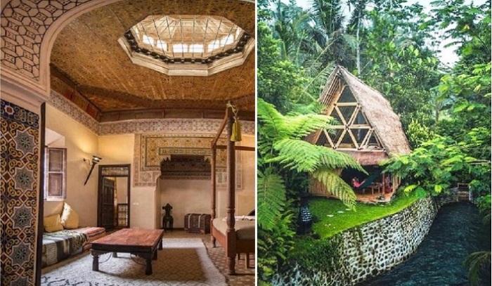 Самые удивительные туристические домики мира