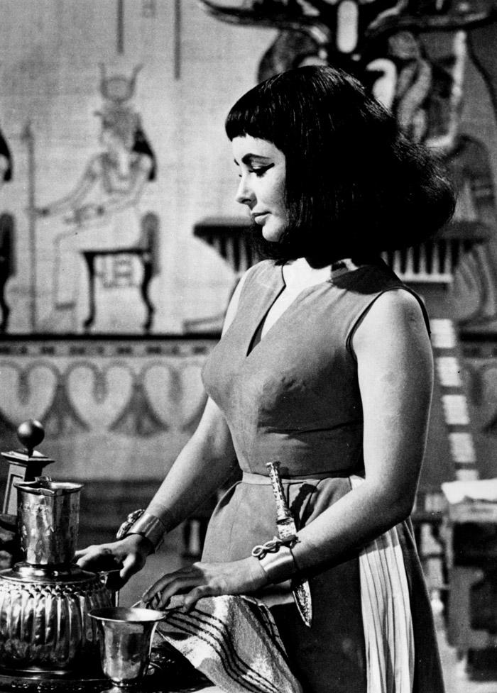 Элизабет Тейлор (Elizabeth Taylor) на съемках фильма «Клеопатра» (Cleopatra) (1963), фото 20
