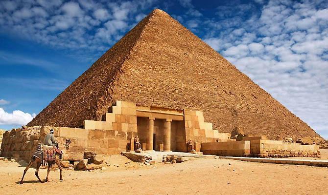 Пирамиды Египта: интересные факты