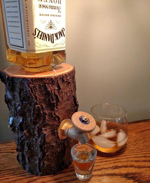 Кран для виски с колой