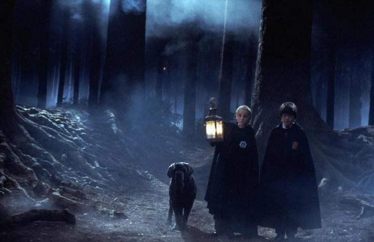 Где снимали Гарри Поттера