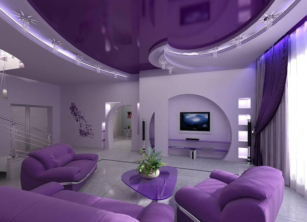 Как увеличить пространство за счет натяжного потолка - советы по дизайну.
