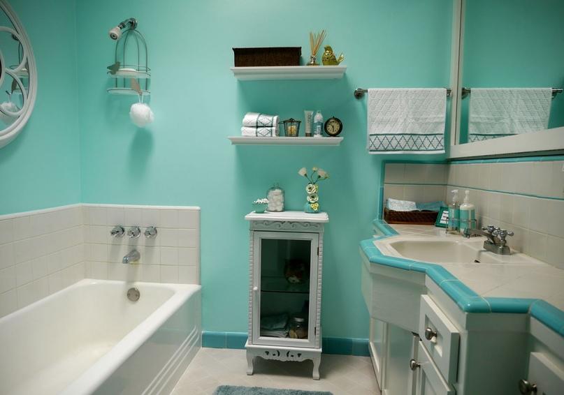Ванная комната – о красках и…