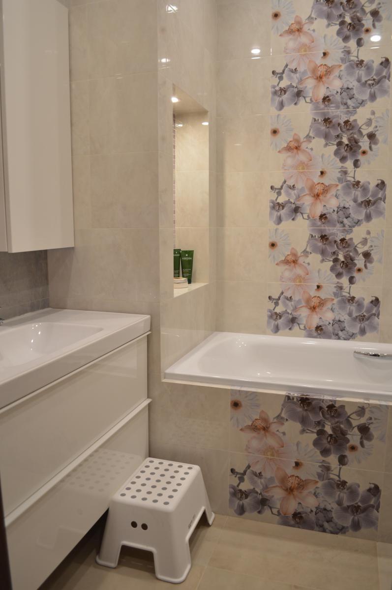 Дизайн ванной плитка керама марацци
