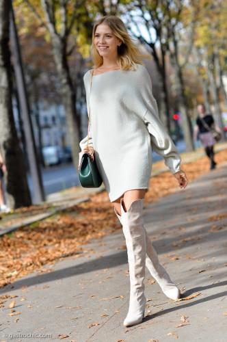 Тренды 2015: Трикотажные платья
