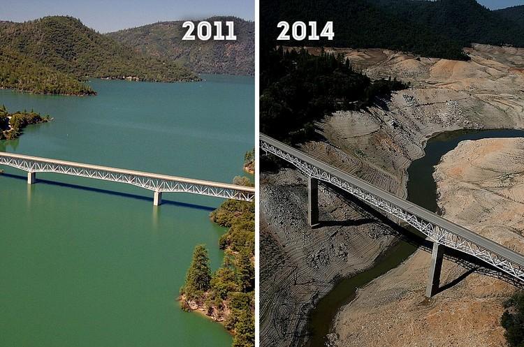 """Земля """"тогда"""" и """"сейчас"""". Разительные перемены в фотографиях NASA"""