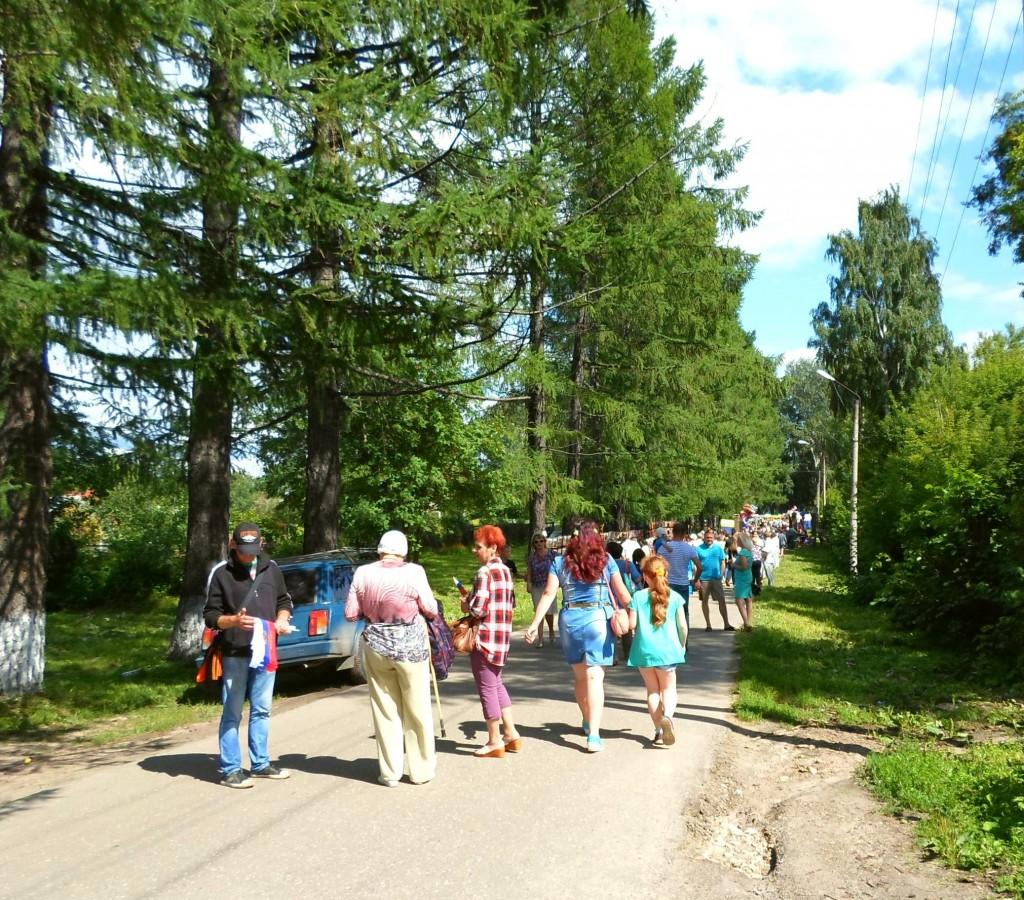"""В парк на праздник...""""День города"""" 25 июля 2015."""