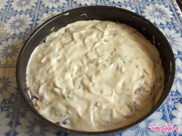 Пирог с сайрой рецепт с фото